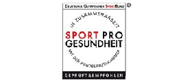 Sport und Pro - Gütesiegel